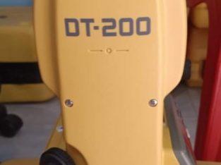 Jual Theodolite Topcon DT 209 Bekas 081295958196