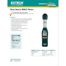Jual Heat Stress WBGT Extech HT-30