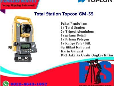 Total Station Topcon GM-55 Murah